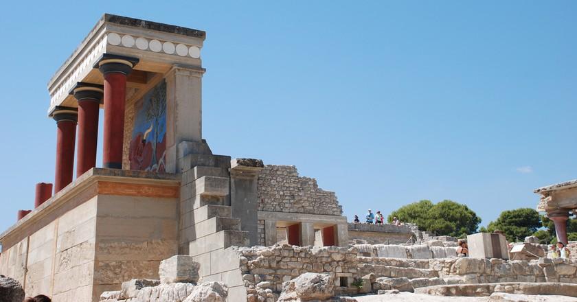 Knossos, Crete   © Trine Juel / Flickr