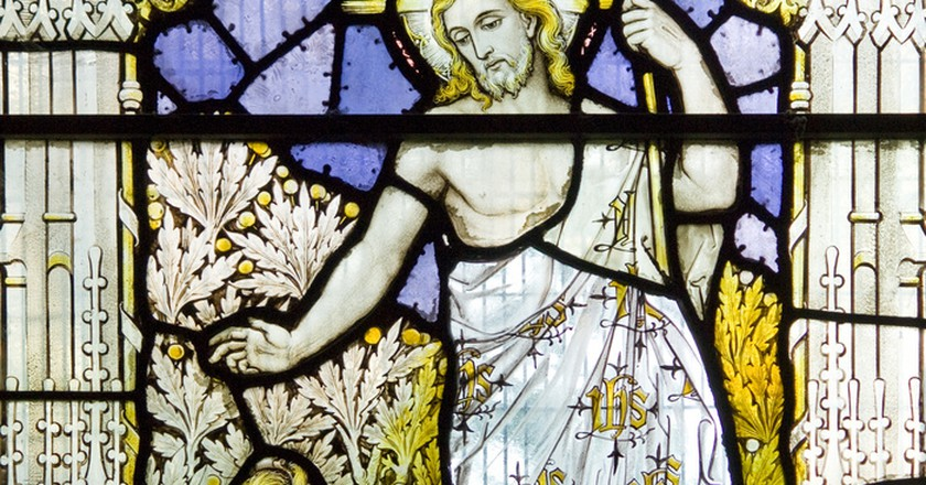 Stained glass windows | © Fr. Lawrance Lew O.P./Flickr