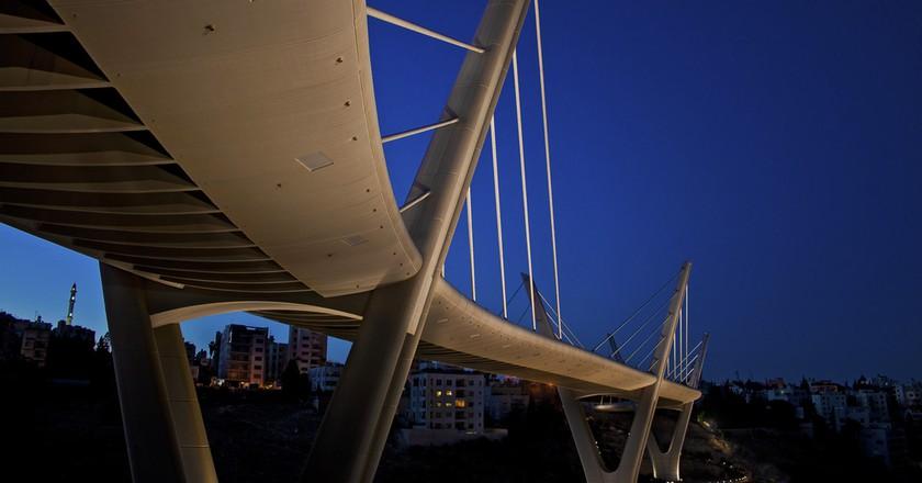 Wadi Abdoun Bridge | © Khaled Sharif