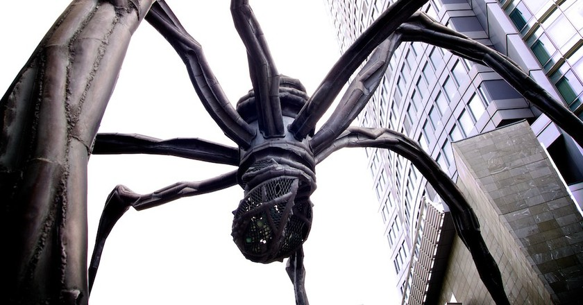 Louise Bourgeois' spider sculpture 'Maman' in Roppongi | © mhiguera / Flickr