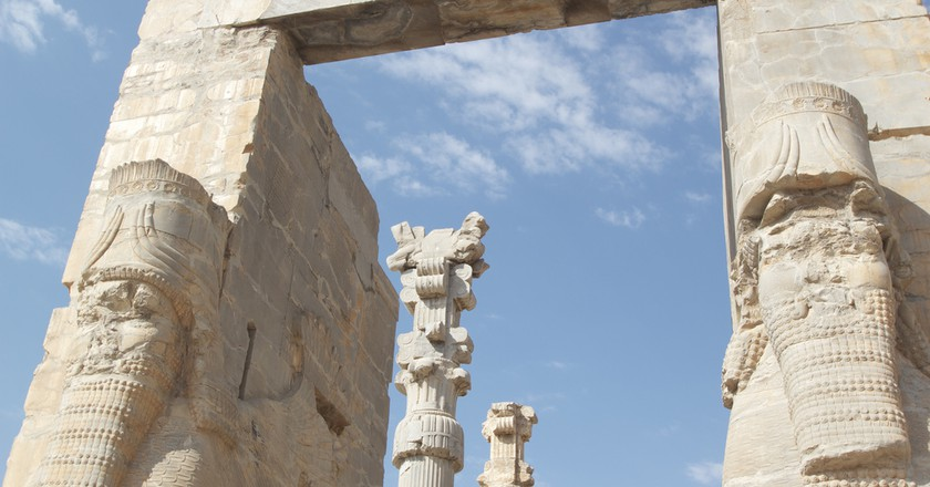 The ancient city of Persepolis | ©  reibai / Flickr