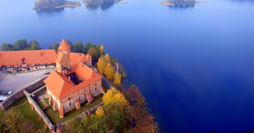 Trakai from Above   © Mindaugas Danys