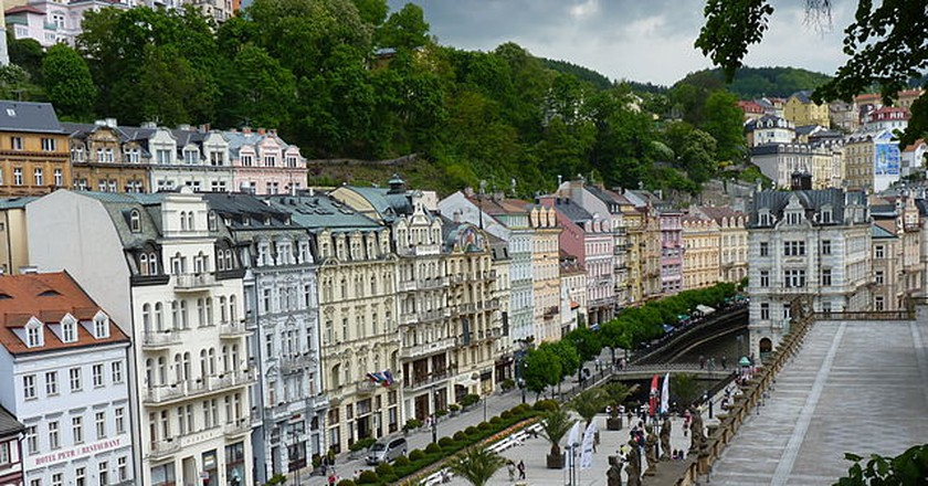 Downtown Karlovy Vary / ©PTGDudva / Flickr