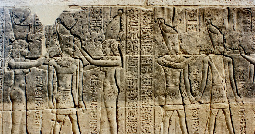 Ancient Egyptian Carvings | © John McLinden / flickr