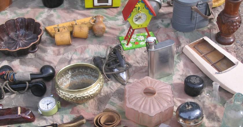Find unique treasures at Prague's flea markets