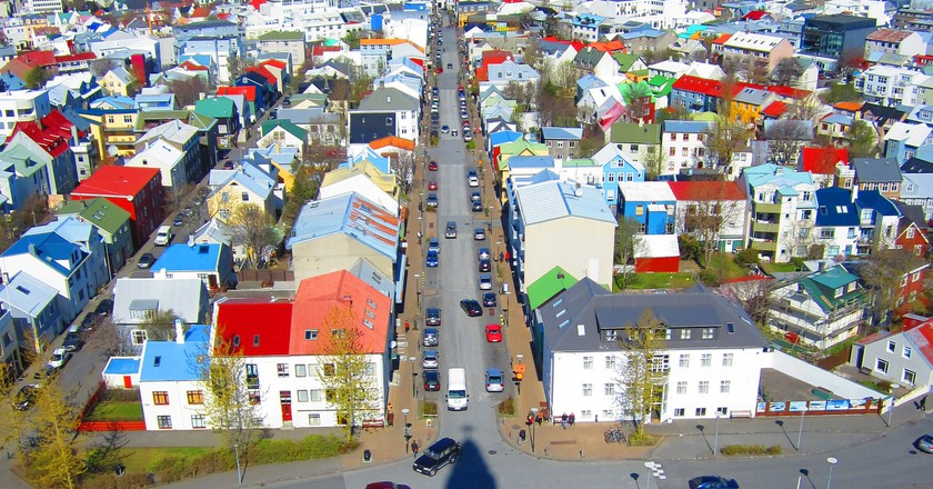 View of Reykjavik from Hallgrimskirkja | © Cali4beach / Flickr
