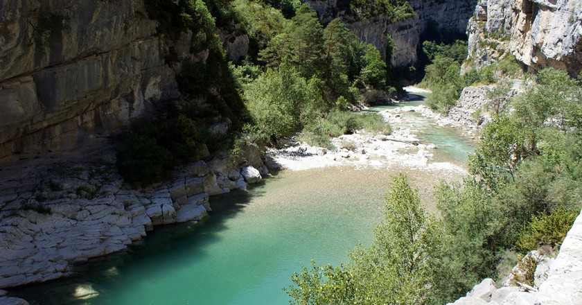 The Gorges du Verdon is one of the most stunning places to swim wild in France | © Olivier Duquesne/flickr