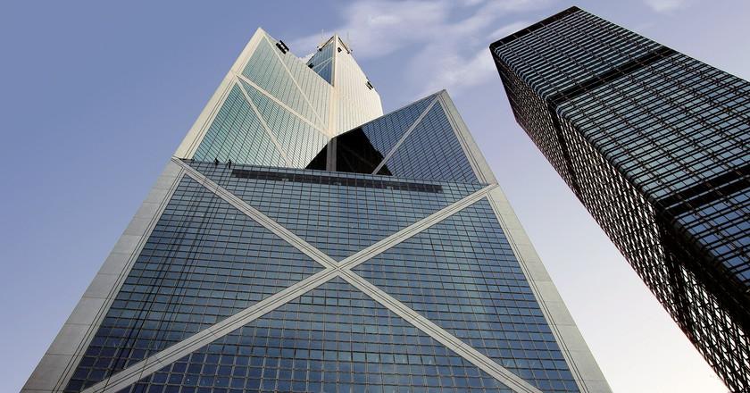 "<a href=""https://www.flickr.com/photos/volvob12b/9532283389/"">Bank of China Tower, Hong Kong | Bernard Spragg. NZ/Flickr</a>"