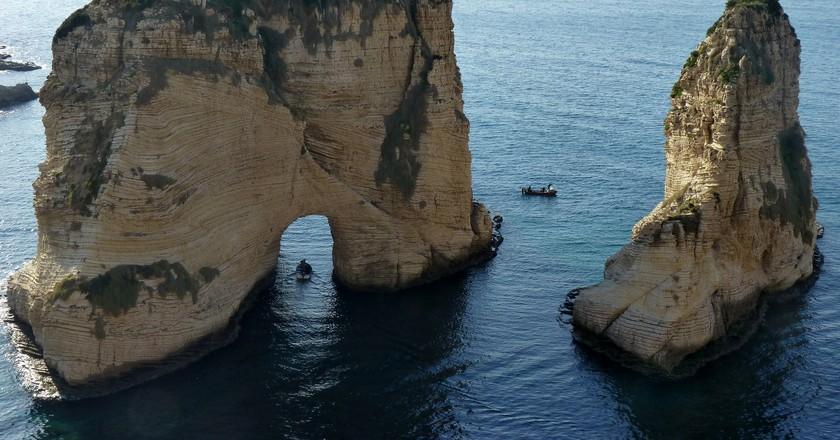 Raouche Rocks | © Maya-Anaïs Yataghène / Flickr