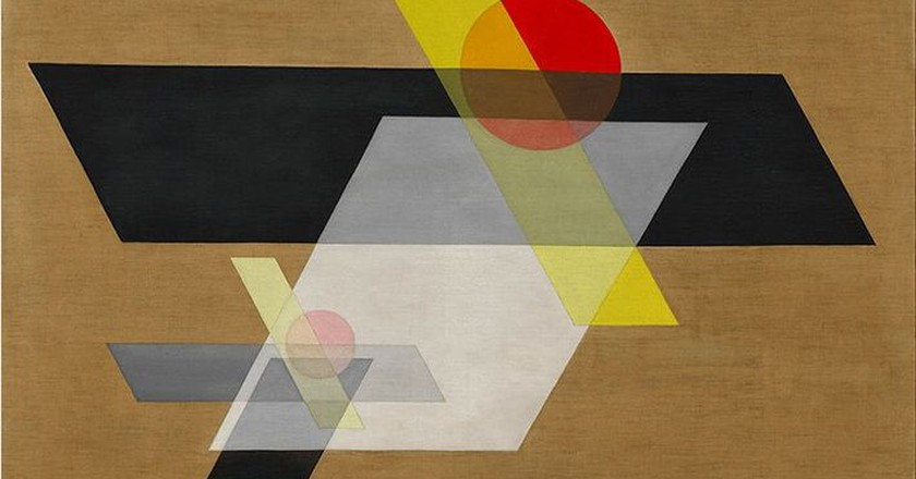 A II (Construction A II) by László Moholy-Nagy, 1924   Creative Commons