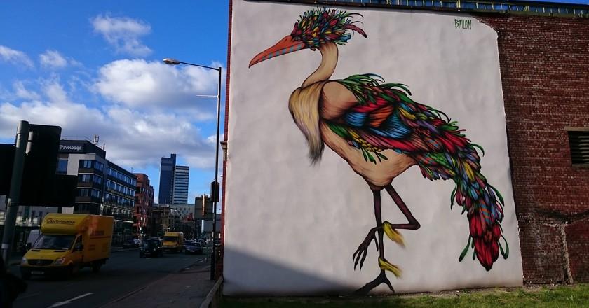 Ancoats street art |© Duncan Hill / Flickr