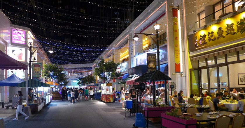 Food Street at Broadway Macau | courtesy of Galaxy Entertainment