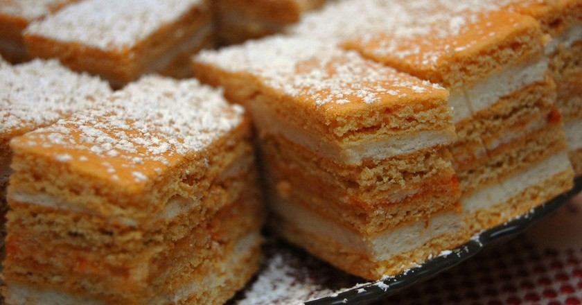 "<a href=""https://www.flickr.com/photos/octopushat/2163003903/sizes/l""> Hungarian Honey Cake 