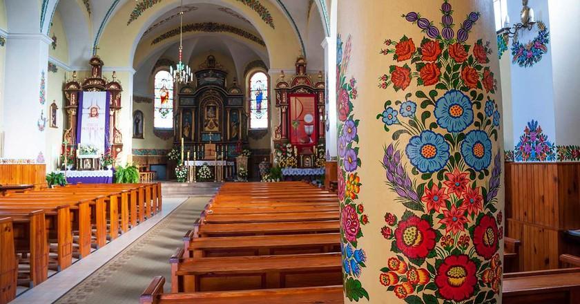 Church in Zalipie | © Agnes Kantaruk / Shutterstock