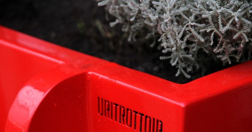 Close-up of the Uritrottoir │ Courtesy of Faltazi