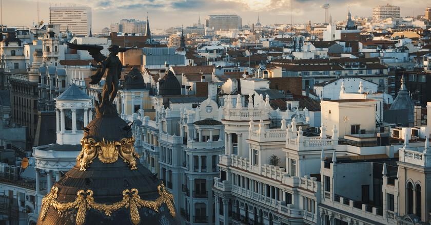 Madrid at Sunset |© Creative Lab/Shutterstock