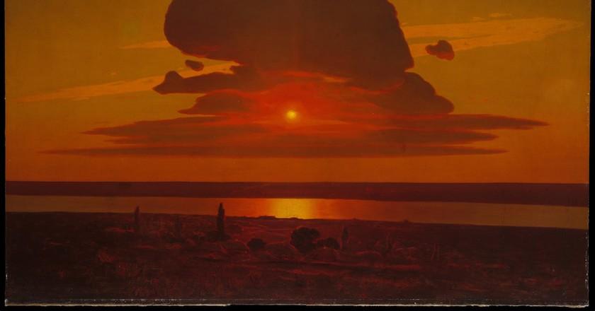 Arkhip Ivanovich Kuindzhi, 'Red Sunset on the Dnieper'. Rogers Fund, 1974