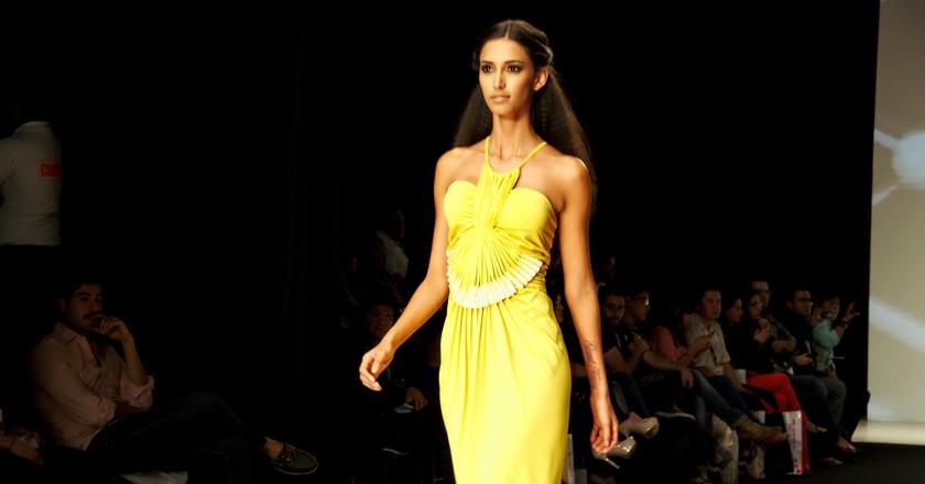 Fashion runway and model | © Gabriel Saldana/ Flickr