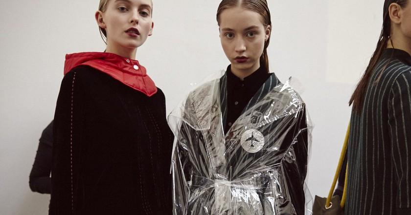 Haizhenwang AW17 | © British Fashion Council