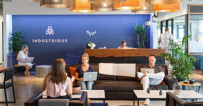 Austin location © Industrious Coworking