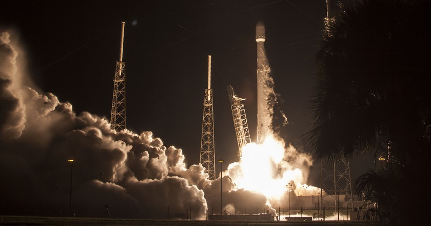 JCSAT Liftoff. | Courtesy SpaceX.