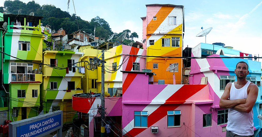 Favela painting project | WikiCommons