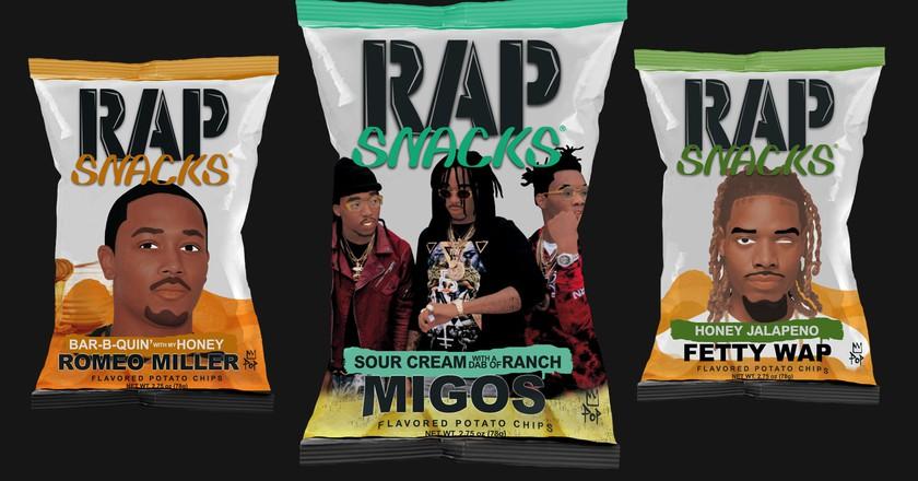 Courtesy of Rap Snacks