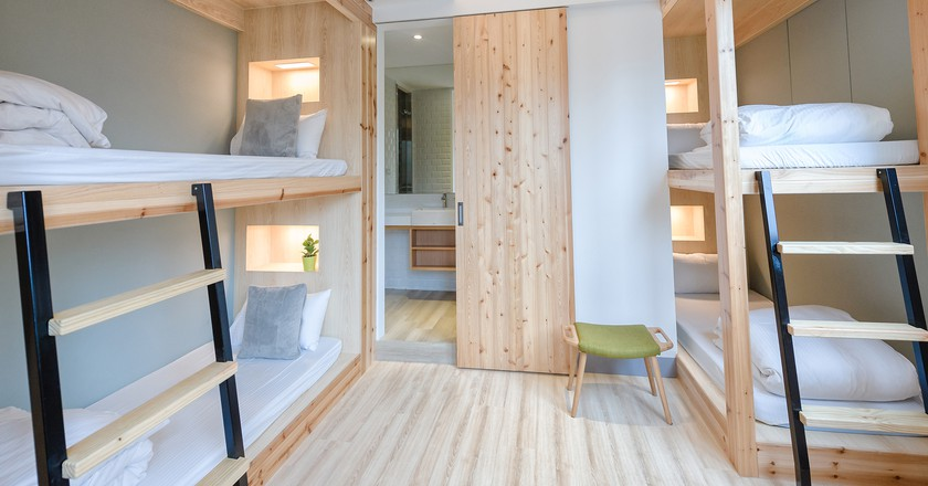 Quad room in Meander Hostel | Courtesy of Meander Hostel