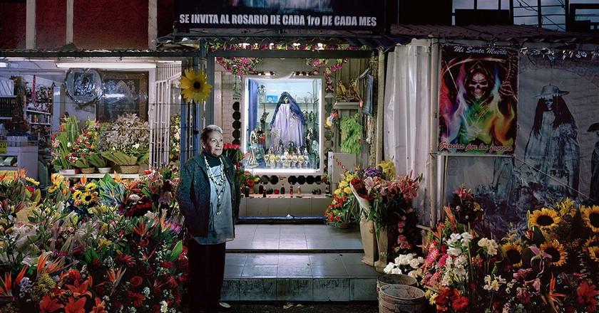 SANTA MUERTE, Mexico City 2016 |© Anja Jensen, VG Bildkunst, Bonn 2017
