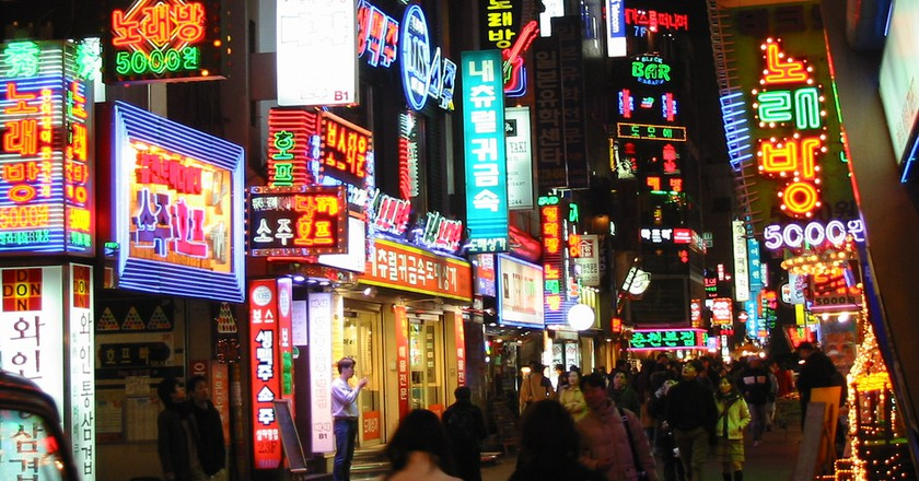 Seoul by night | © Philippe Teuwen/Flickr
