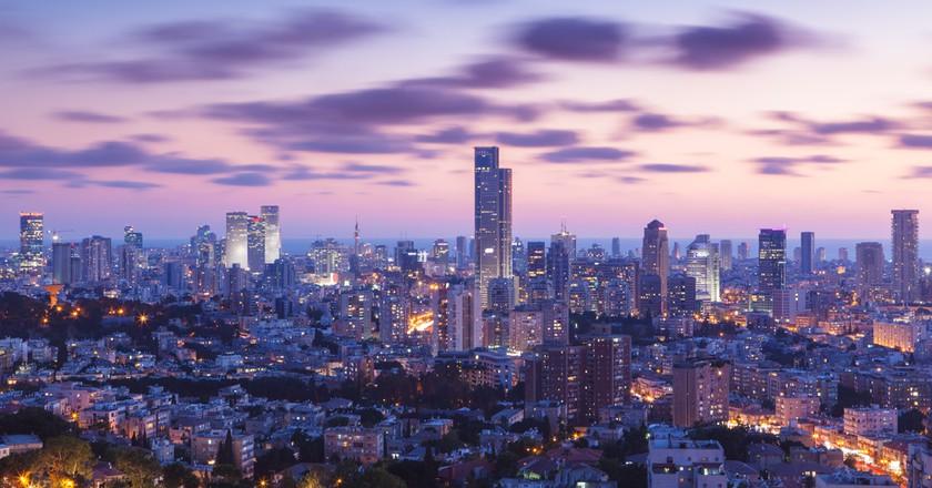 Tel Aviv and Ramat Gan are major parts of Silicon Wadi. | Dmitry Pistrov, Shuterstock