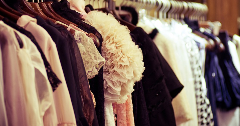 Choice of fashion clothes  |  © Forewer/Shutterstock