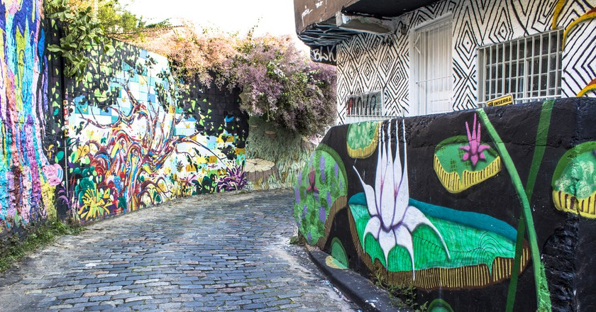 Beco do Batman in the Vila Madalena neighborhood | ©  Alf Ribeiro / Shutterstock