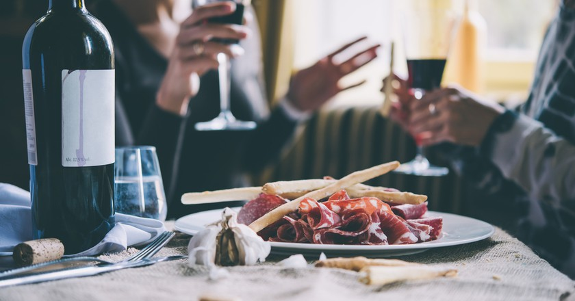 Typical local tapas lunch | © Yulia Grigoryeva/Shutterstock