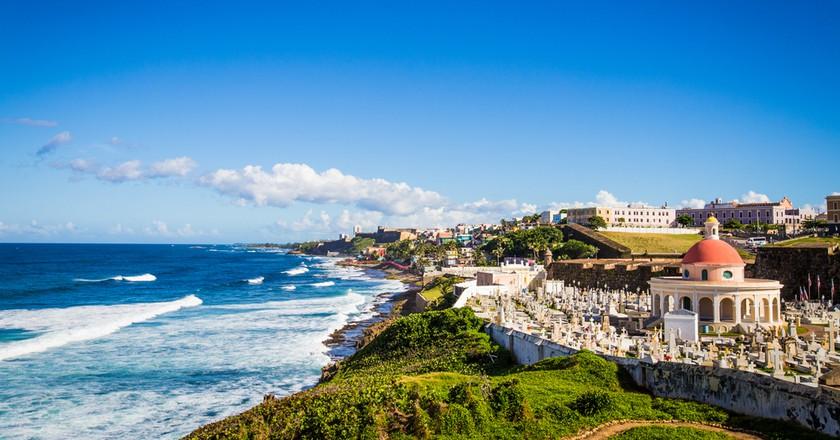 Old San Juan Cemetery Puerto Rico   © Tinapat Kotumrongsak/Shutterstock
