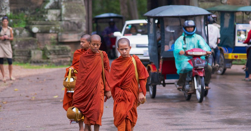 95 percent of Cambodians practise Therevada Buddhism| © Dmitry Chulov/ Shutterstock