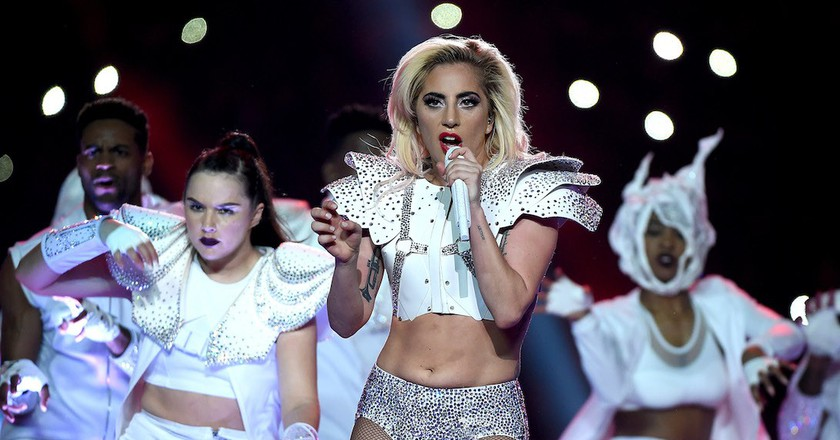 Lady Gaga's Half Time Performance NFL Super Bowl | By Frank Micelotta/REX/Shutterstock