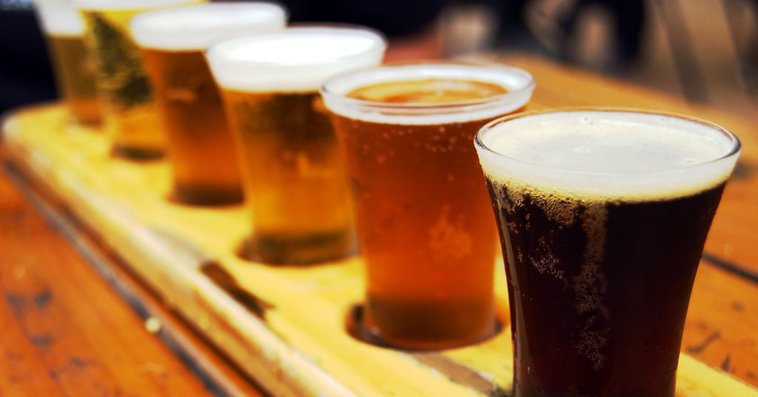 Beer sampler ©NerdPatrol/Flickr