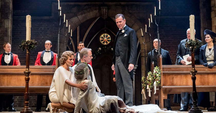 Steven Pacey and Company in RSC and CFTs Much Ado About Nothing | ©Manuel Harlan / RSC / Courtesy of Cornershop PR