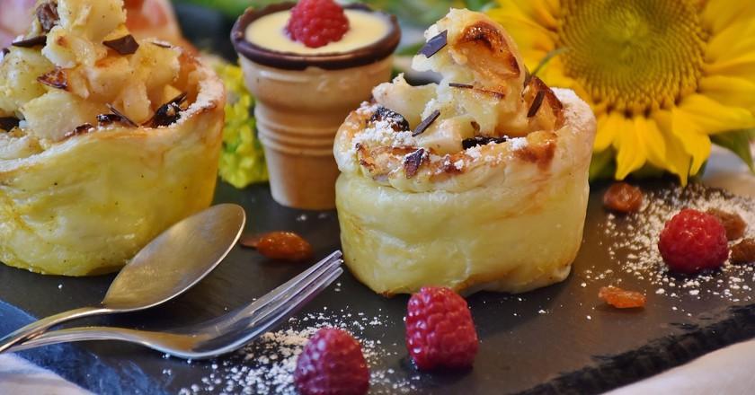 Apple Strudel Muffins |  ©  RitaE / Pixabay