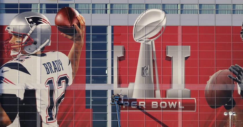 The New England Patriots and Atlanta Falcons meet in Super Bowl LI   © Shutterstock
