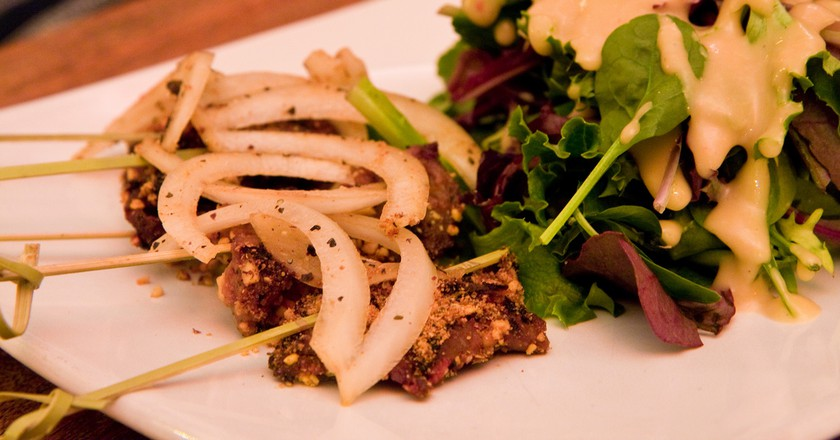 Suya is a delicious local dish   © Garrett Ziegler / Flickr