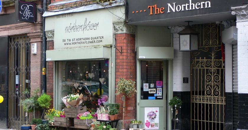 Northern Quarter shops   © Heather Cowper /Flickr