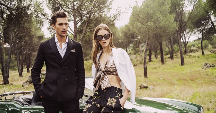 Menswear and womenswear from the  Verino SS17 collection | © Roberto Verino