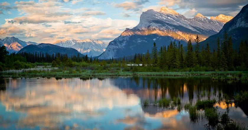 Vermillion Lake in Banff National Park | © Brandon Levinger / Flickr