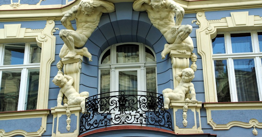Prague's Vinohrady neighbourhood   © Donald Judge/Flickr