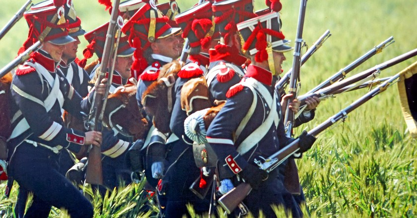 Waterloo reenactment | © Dennis Jarvis / Flickr