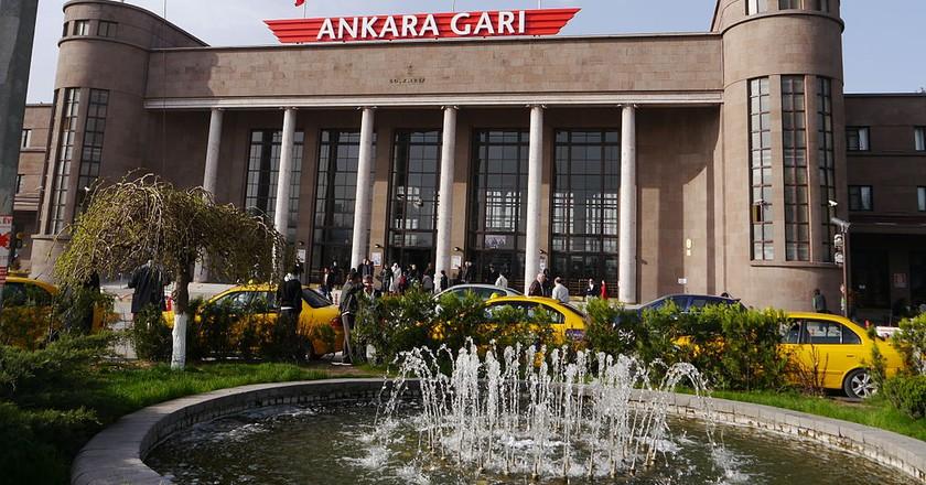 Ankara Train Station  © Fah112778 / Wikimedia Commons