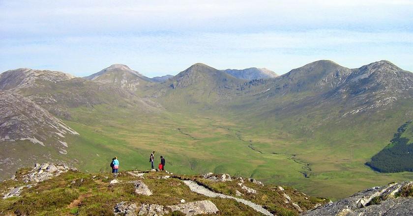 Twelve Bens in Connemara  / WikiCommons