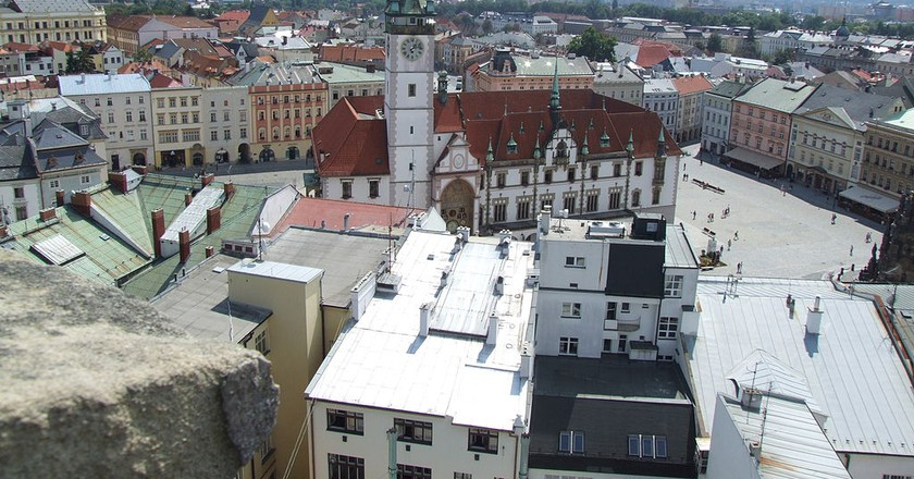 View of Olomouc from above |© Adamsrockmetal / Wikimedia Commons